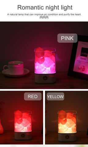 USB Crystal LED Himalayan Salt Lamp - Better than a Lava Lamp! - The Gadget Junkie