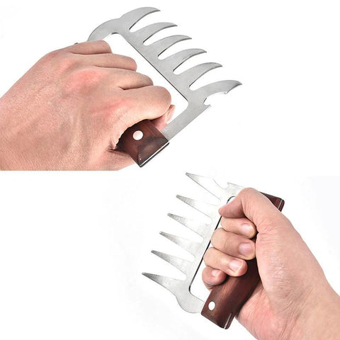 Stainless Steel Meat Claws  - The Ultimate BBQ Tool!