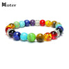 Image of Rainbow Stone Chakra Bracelet - The Gadget Junkie