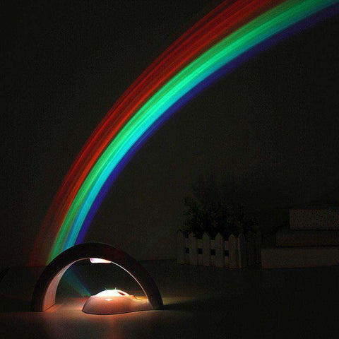 Rainbow LED Night Light Projector For Kids of All Ages - The Gadget Junkie
