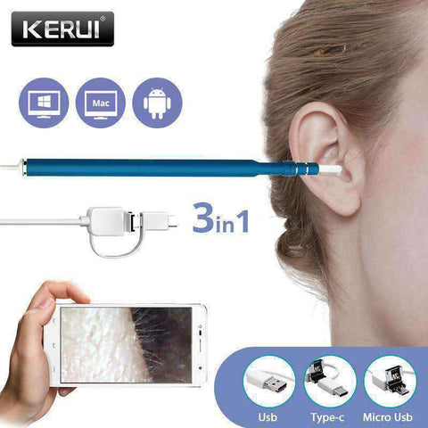 USB Ear Cleaning Tool - For Spotless Ears Inside and Out - The Gadget Junkie