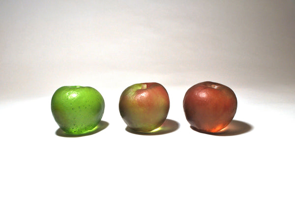 Cast Glass Fruit by Wendy Fairclough