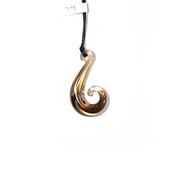 Hook Pendant by Emily Lake