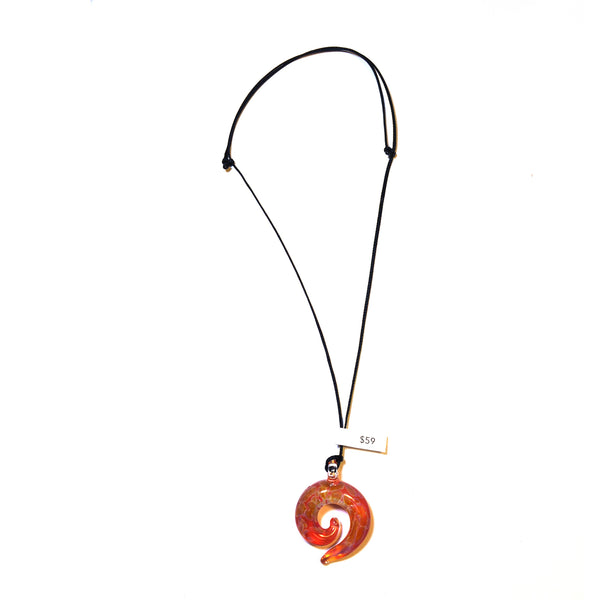 Koru Swirl Pendant by Emily Lake
