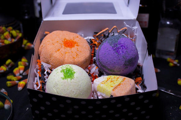 Halloween Bath Bomb Giftbox