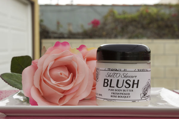 Pure Body Butter: Blush ~Fresh Picked Rose Bouquet