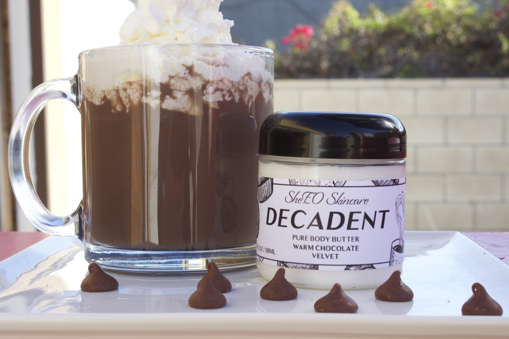Pure Body Butter: Decadent ~ Warm Chocolate Velvet