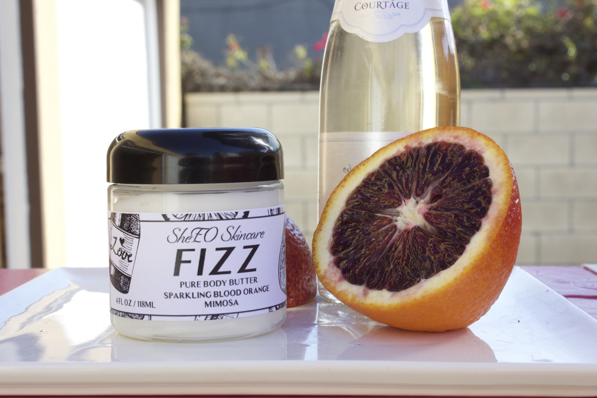 Pure Body Butter: Fizz ~ Sparkling Blood Orange Mimosa