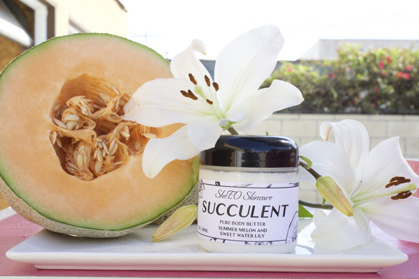 Pure Body Butter: Succulent ~Summer Melon and Sweet Water Lily