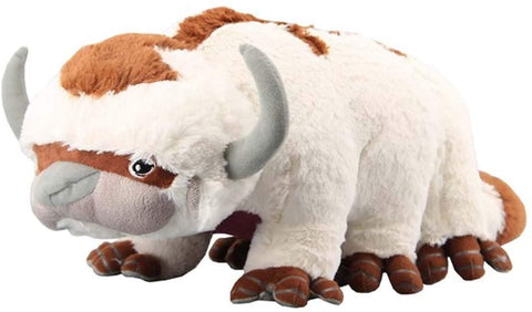 yuailiur Avatar Last Airbender Appa Momo Plush Toy Soft Stuffed Animals Cattle and Bat Doll Children Toys (Appa)
