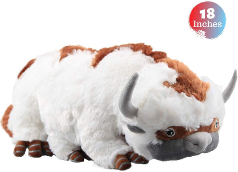 "Tacumo The Last Airbender Resource Appa Avatar Plush Stuffed Animal for Kids (18"")"