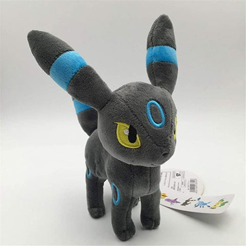 Lanmando Standing Shiny Umbreon Animal Stuffed Plush Quality Cartoon Toy (Shiny Umbreon)