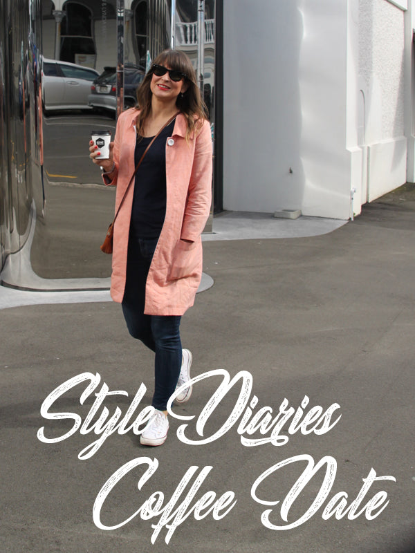 Outfit Diaries : Styling for a Coffee Date