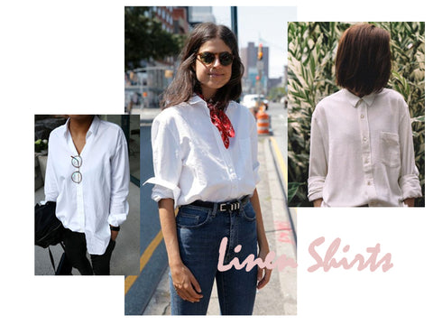 Linen Shirts | How to style | Lushington Jackets
