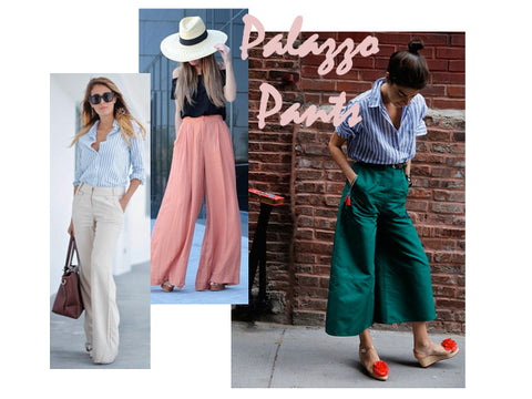Palazzo Pants | How to Style | Lushington Jackets