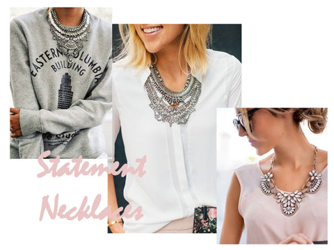 Statement Necklaces | How to Style | Lushington Jackets
