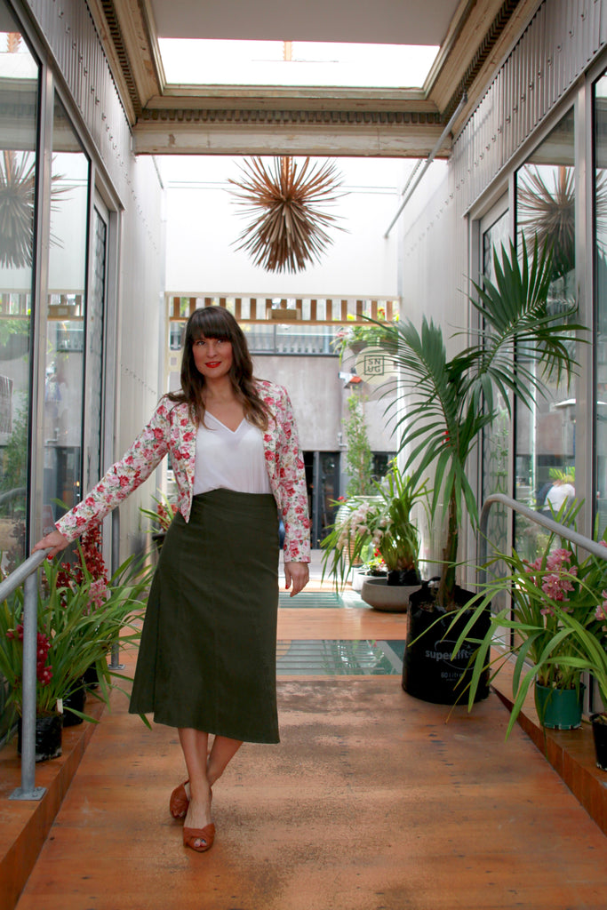 Florals and Khaki | Lushington Jackets | How to style Florals