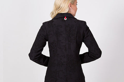 Charles Jacket | back Detail | Lushington Jackets