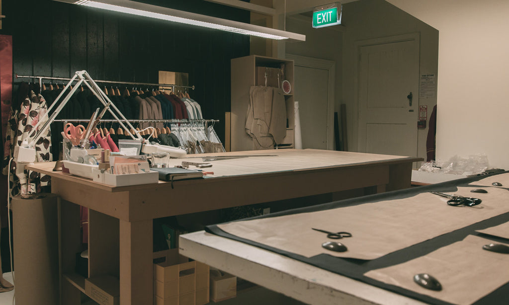 Lushington Jackets | Workroom Space | About Us