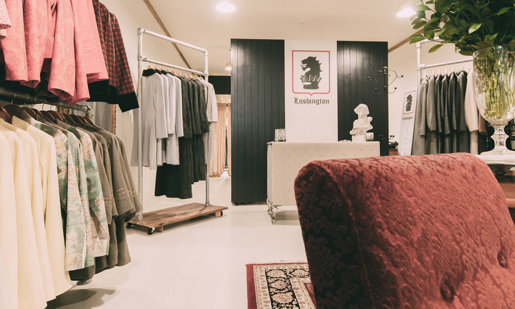 Lushington Interior | Lushington Jackets | About the Shop