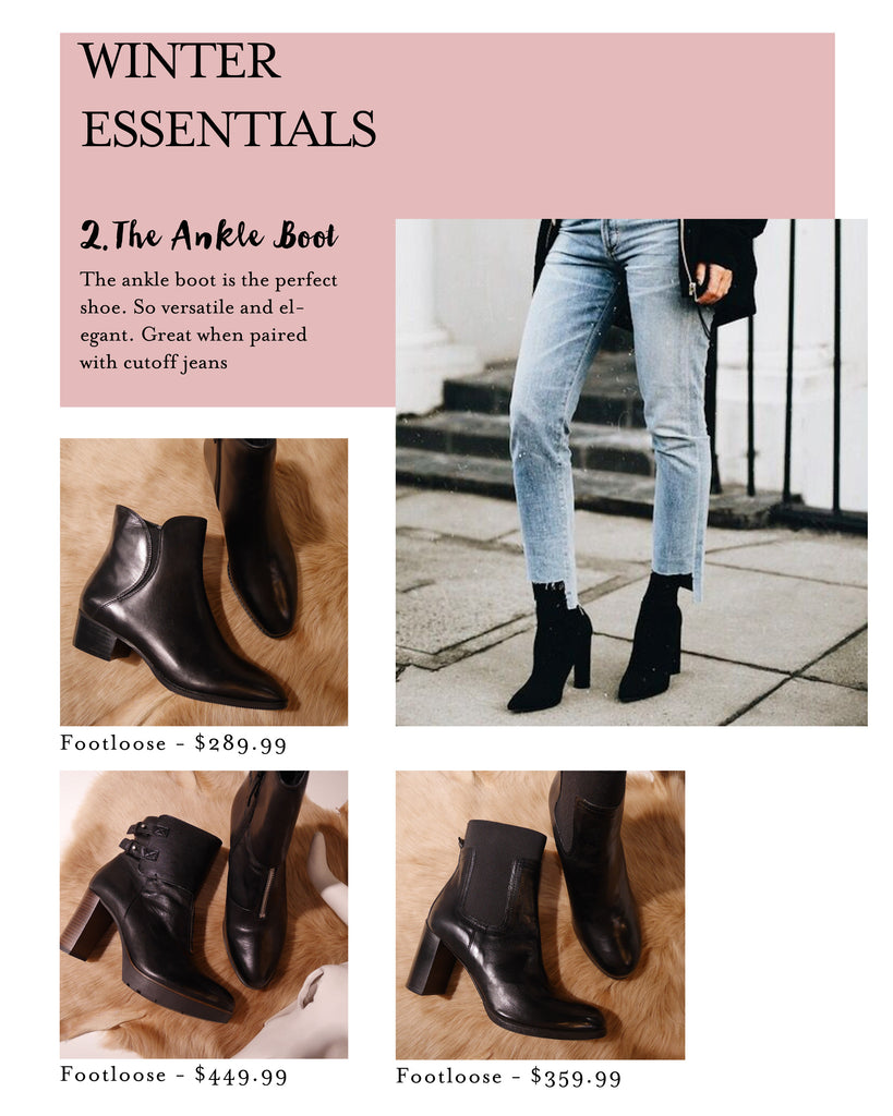 Lushington Jackets, The Ankle Boot, Winter Essentials