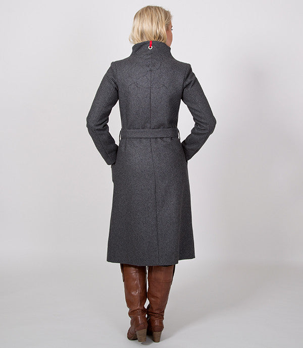 Back of Grey womens winter coat | Christian Grey for all you fifty shades out there | Lushington Jackets