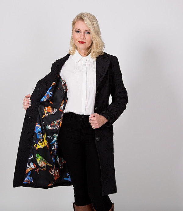 Pirate Jacket | Even has Parrots on the lining | Lushington Jackets