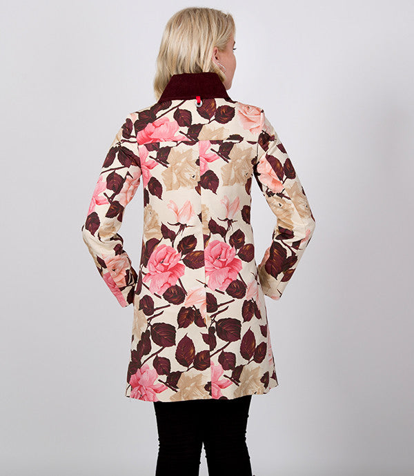 Floral Jacket in Silk | Lushington Jacket | Leopold Jacket