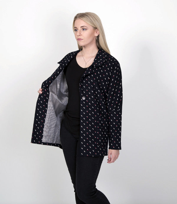 Saunders Jacket - ONLY AVAILABLE at Designer Clothing Gallery, Greytown