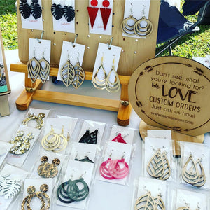 Asha Jane & Co Laser Cutting Studio Jewellry and Custom Orders Sign