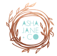 Asha Jane & Co Laser Cutting Studio Logo