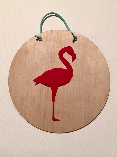Acrylic & Wood Plaque || Animals