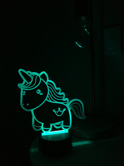 LED & Acrylic Night Light