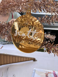 Christmas Bauble || 3D Mirror Acrylic || Custom