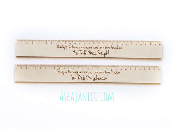 Ruler || Teacher || Custom