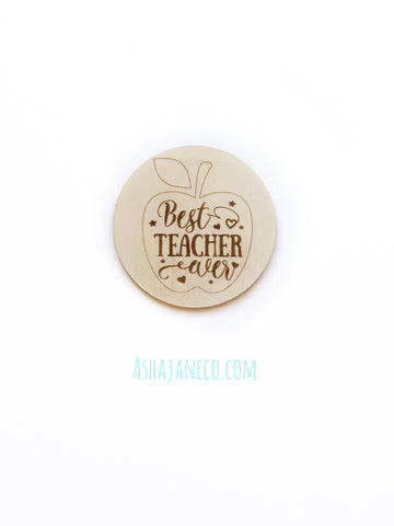 Coaster / Bauble || Teacher || Custom