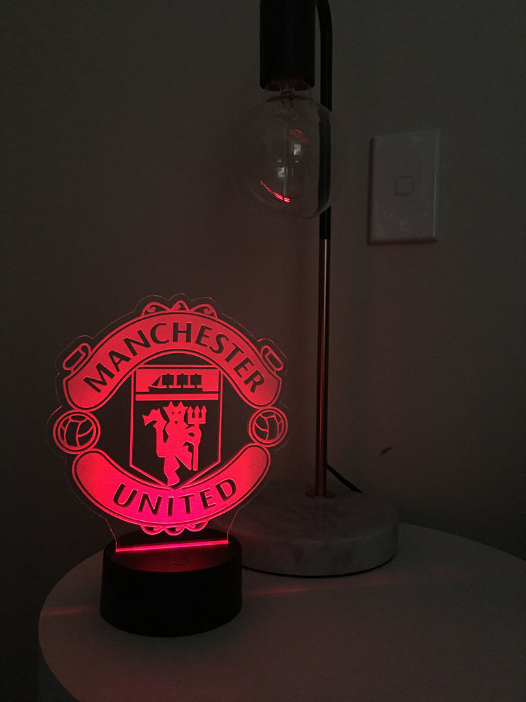 Led acrylic night light football clubs asha jane co led acrylic night light football clubs aloadofball Image collections