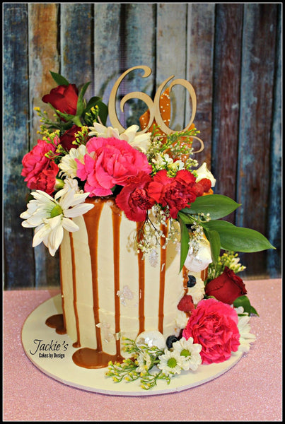 Cake Topper || 60 || Style #1