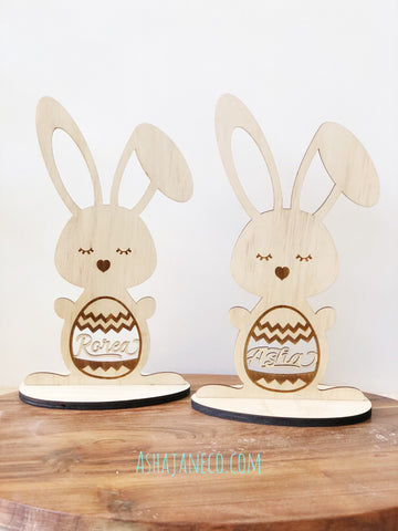 Easter || Customised Bunny with stand