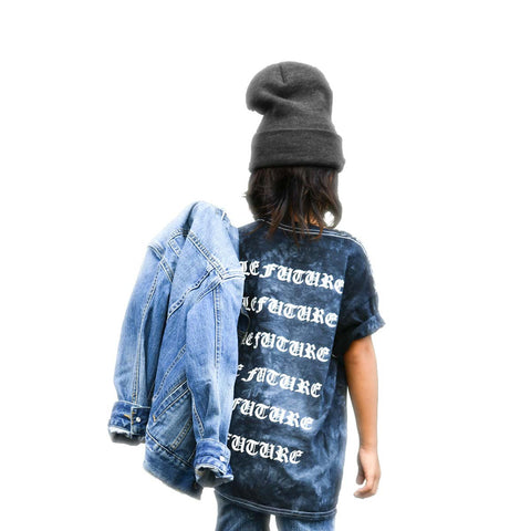 I Feel Like Le Future | Tie Dye - Kids Short Sleeve Tee