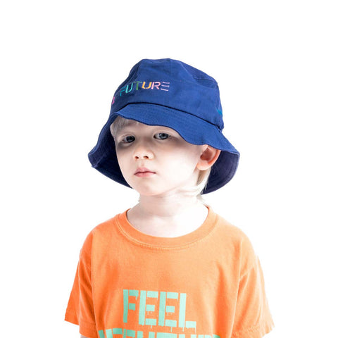 LeFuture | Navy - Kids Bucket Hat