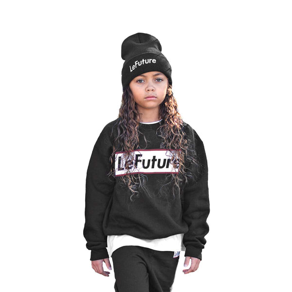 LeFuture Sport | Black - Kids Crew