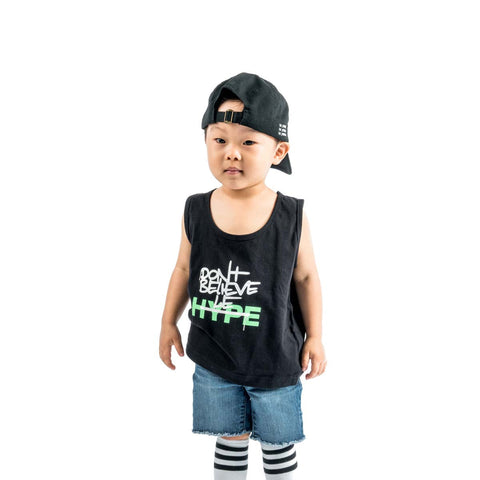 Le Hype | Black - Kids Tank Top