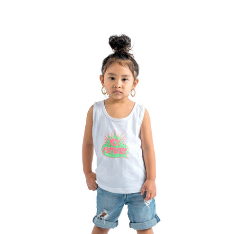 Yo Future | White - Kids Tank Top