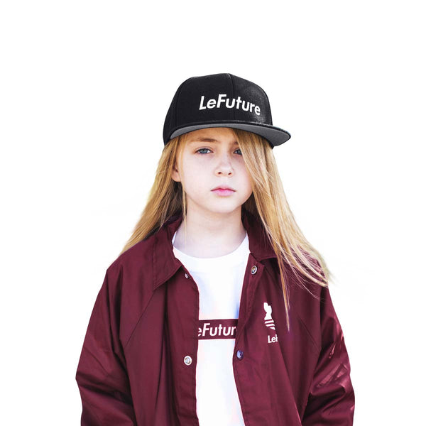 LeFuture Sport | Black - Kids SnapBack