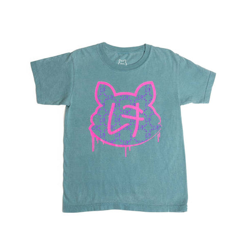 LF Monogram | Kids Short Sleeve Tee