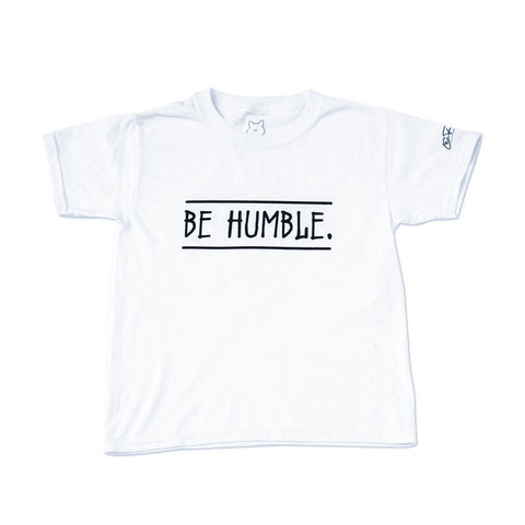 Be Humble.Humility | Kids Short Sleeve Tee