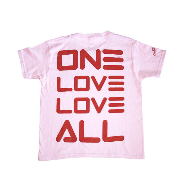 One Love.Love All | Kids Short Sleeve Tee