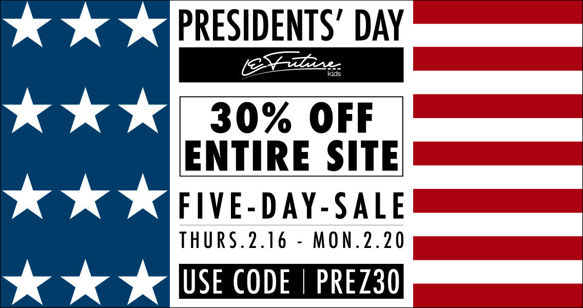 LeFuture Kids |  Presidents' Day Sale