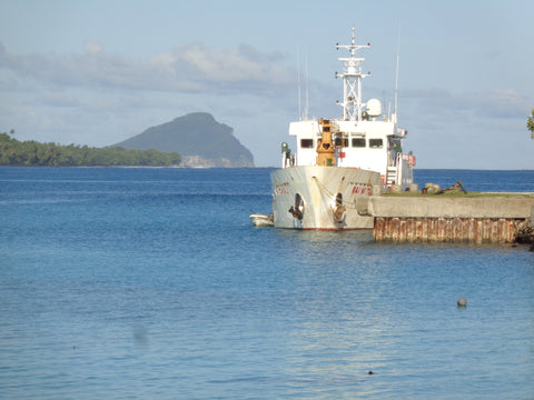 Ba Ni Takali at dock in Rotuma